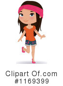 Girl Clipart #1169399 by Melisende Vector