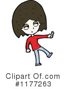 Royalty-Free (RF) Girl Clipart Illustration #1177263