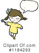 Girl Clipart #1184293 by lineartestpilot