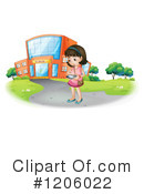 Girl Clipart #1206022 by Graphics RF