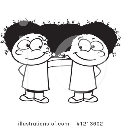 Siblings Clipart #1213602 by toonaday