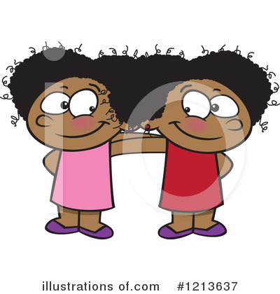 Siblings Clipart #1213637 by toonaday