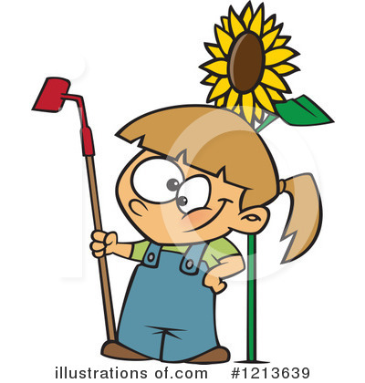 Gardening Clipart #1213639 by toonaday