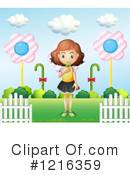 Girl Clipart #1216359 by Graphics RF