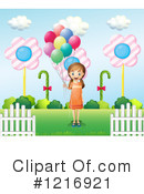 Girl Clipart #1216921 by Graphics RF