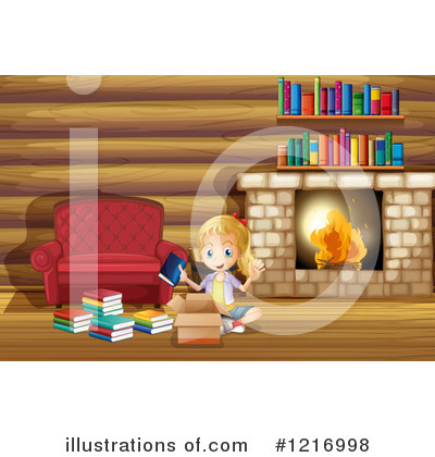 Fireplace Clipart #1216998 by Graphics RF