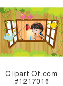 Girl Clipart #1217016 by Graphics RF