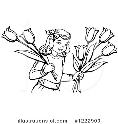 Tulips Clipart #1222900 by Picsburg