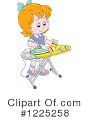 Girl Clipart #1225258 by Alex Bannykh