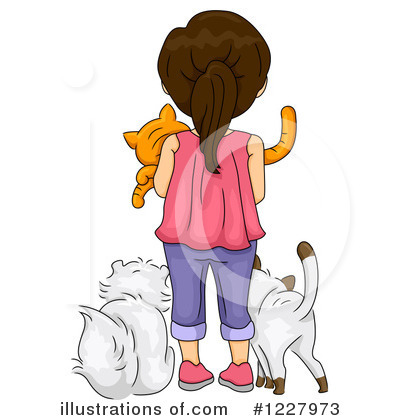 Cat Clipart #1227973 by BNP Design Studio