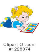 Girl Clipart #1228074 by Alex Bannykh