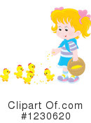 Girl Clipart #1230620 by Alex Bannykh