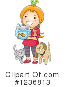 Royalty-Free (RF) Girl Clipart Illustration #1236813