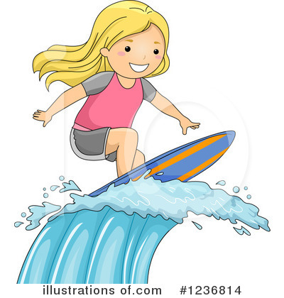 Surfer Clipart #1236814 by BNP Design Studio
