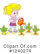 Royalty-Free (RF) Girl Clipart Illustration #1240274