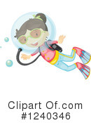 Girl Clipart #1240346 by Graphics RF