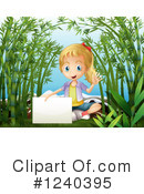 Royalty-Free (RF) Girl Clipart Illustration #1240395