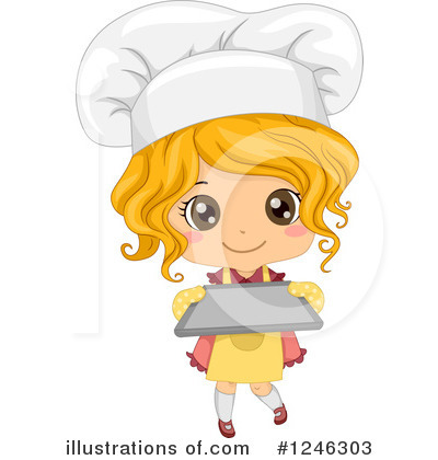 Chef Clipart #1246303 by BNP Design Studio