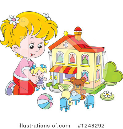 Toy Clipart #1248292 by Alex Bannykh