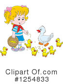 Girl Clipart #1254833 by Alex Bannykh