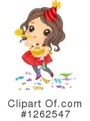 Girl Clipart #1262547 by BNP Design Studio