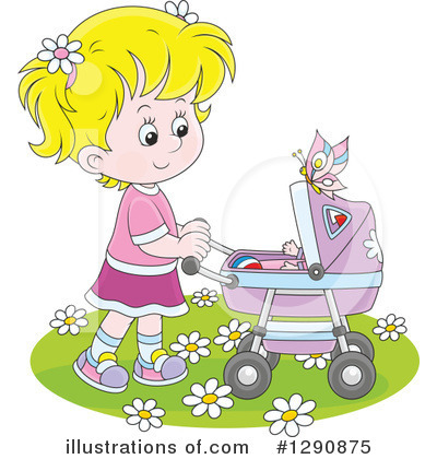 Baby Clipart #1290875 by Alex Bannykh
