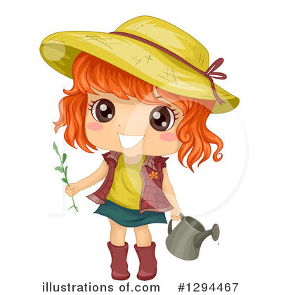 Gardening Clipart #1294467 by BNP Design Studio