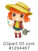 Royalty-Free (RF) Girl Clipart Illustration #1294467