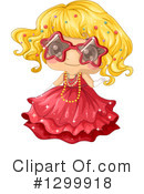 Royalty-Free (RF) Girl Clipart Illustration #1299918