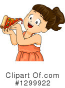 Royalty-Free (RF) Girl Clipart Illustration #1299922