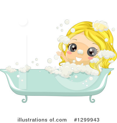 Bath Time Clipart #1299943 by BNP Design Studio
