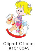 Royalty-Free (RF) Girl Clipart Illustration #1318349