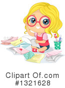 Girl Clipart #1321628 by BNP Design Studio