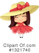 Royalty-Free (RF) Girl Clipart Illustration #1321740