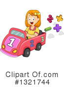 Royalty-Free (RF) Girl Clipart Illustration #1321744