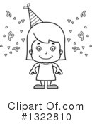 Girl Clipart #1322810 by Cory Thoman