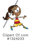 Girl Clipart #1324233 by toonaday