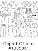 Royalty-Free (RF) Girl Clipart Illustration #1335861