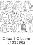Royalty-Free (RF) Girl Clipart Illustration #1335862