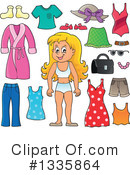 Girl Clipart #1335864 by visekart