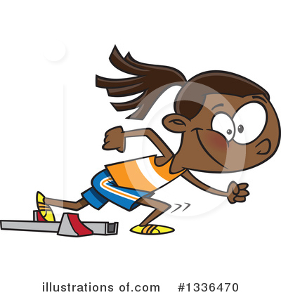 Track And Field Clipart #1336470 by toonaday