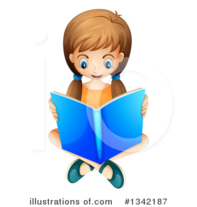 Reading Clipart #1342187 by Graphics RF