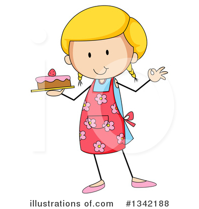 Royalty-Free (RF) Girl Clipart Illustration by Graphics RF - Stock Sample #1342188