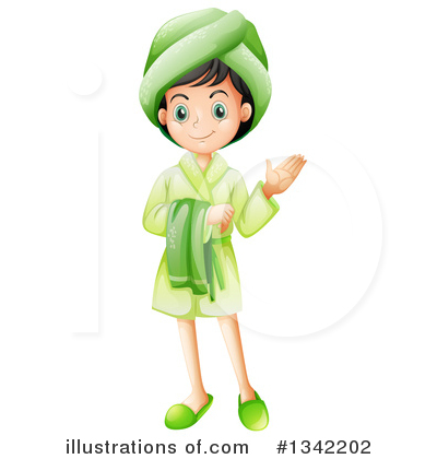Royalty-Free (RF) Girl Clipart Illustration by Graphics RF - Stock Sample #1342202