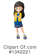 Girl Clipart #1342221 by Graphics RF