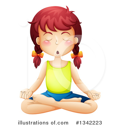Meditating Clipart #1342223 by Graphics RF