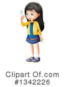 Girl Clipart #1342226 by Graphics RF