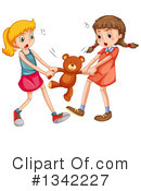 Girl Clipart #1342227 by Graphics RF