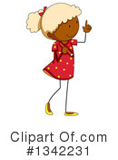 Girl Clipart #1342231 by Graphics RF