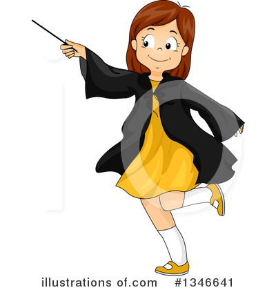 Wizard Clipart #1346641 by BNP Design Studio